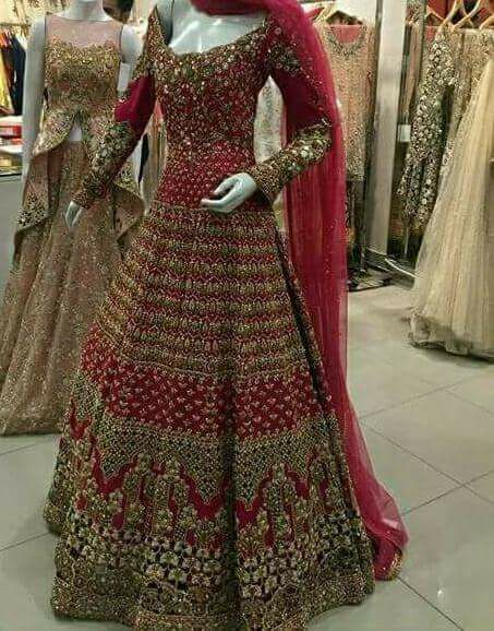 Design No 11 Pakistani Designer Bridal Dresses Dubai Uae