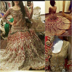 pakistani famous bridal designer